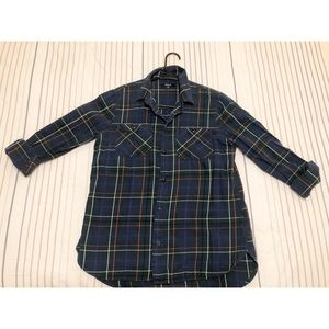 Madewell Plaid / Green/Red/Navy / Size M